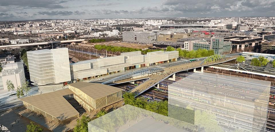 Le futur FUP que l'a imaginé son architecte, Marc Mimram.